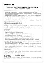 Sample Business Resumes Extraordinary Jr Business Analyst Resume Socialumco