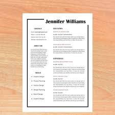 Resume Template Cv Template Professional Resume Creative Resume Cv Design Resume Cv Teacher Resume Clean Resume Simple Resume