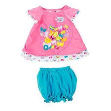 Купить одежду для <b>куклы</b> Zapf Creation <b>Baby born</b> Туника розовая ...