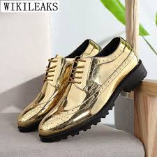designer luxury brand men shoes patent leather shoes men formal mariage wedding dress shoes men bullock