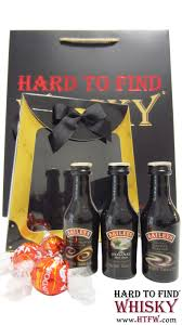 whisky liqueurs baileys 3 x miniatures chocolate gift set hard to find edition