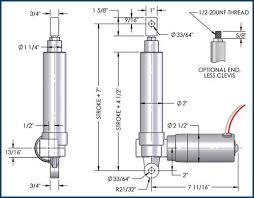 hmpd series clutch linear actuator specifications linear actuator hmpd series diagram clutch