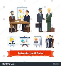 Business Job Interview Brainstorming Sale Closing Stock Vector
