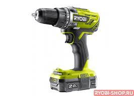 <b>Дрель</b>-<b>шуруповерт аккумуляторная</b> Ryobi R18DD3-120S ONE+ ...