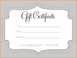 6 Create Your Own Gift Certificate Template Free Grittrader