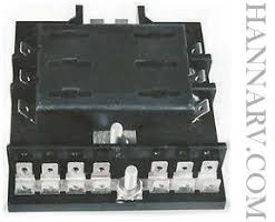fuses fuse blocks fuse holders circuit breakers circuit sierra fs40420 6 gang fuse block ground bus