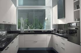 white cabinetry can work with black appliances you just need to make sure that hardware