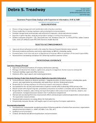 Data Analyst Resume Example 60 data analyst resumes samples way cross camp 31
