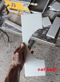 how to use a tile wet saw perfect cut