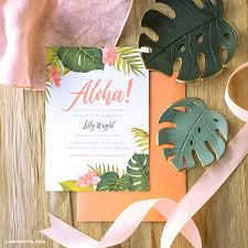 Tropical Party Invitations Lu Wow Your Friends And Family With Tropical Party Invitations