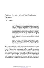 how to write an introduction in great gatsby themes essay gatsby and daisy relationship essay brightkite com