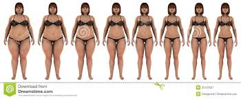 Fat To Thin Weight Loss Transformation Of A White Stock