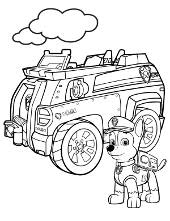 Paw Patrol Coloring Pages Print Free Pictures For Children With
