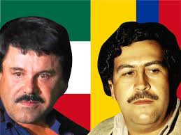 How Pablo Escobar and 'El Chapo' Guzman compare