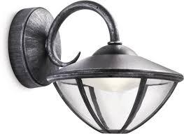 Bolcom Philips Mygarden Eden Wandlamp Led Zwart 75w