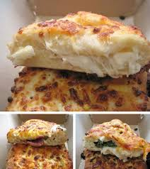 Chain Reaction Dominos Stuffed Cheesy Bread Serious Eats