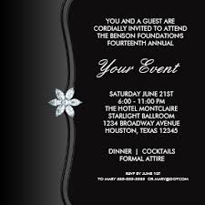 Black Tie Party Invitations Announcements Zazzle Uk