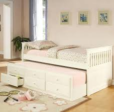 solid wood trundle bed coaster la collection twin size captains bed with trundle storage drawers simple solid wood trundle bed