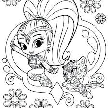 Download Disegni Da Colorare Shimmer And Shine Disegni Da Colorare