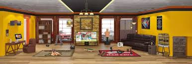 And what's really cool is that if you like something, it's usually for sale  and they link where you can buy it. myWebRoom Virtual Room!