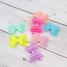 <b>Oaoleer Hair Accessories 3</b> Inch Waterproof Hairgrips Jelly Bows ...
