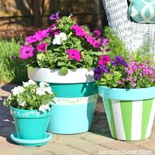 painting clay pots how to paint terracotta pots hand painted clay pot ideas