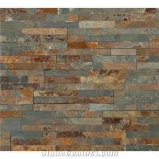 split face multicolour rusty slate