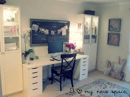 Home Office Makeovers Beautiful Home Office Makeover |