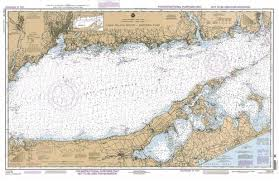 Noaa Chart 11416 Chart Long Island Sound Eastern Part Training Chart