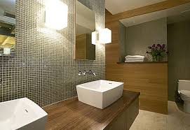 Bathroom Design Ideas, Tiny Square Tile White Line Wall Pattern Houzz  Bathroom Design Wooden Wall