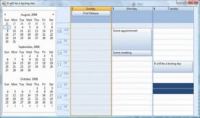 Sample Agenda Calendar Enchanting A Professional CalendarAgenda View That You Will Use CodeProject