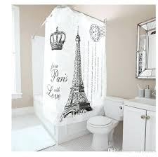 36 inch shower curtain customs w x h inch shower curtain tower with crown waterproof polyester fabric shower 36 inch shower curtain