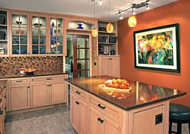 For A New Kitchen Orange Is The New Kitchen With Perks For Cooks And Pets