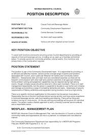 Job Description Sample Resume Experiences For Resumes Career
