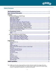 Ball Bearing Interchange Chart Miniature And Instrument Bearing Catalog By Nhbb New