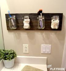 DIY Playbook: How to create a Mason Jar Organizer More