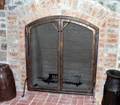 image of fireplace screen mesh