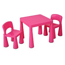 Children S Table Chair Set Pink Profile Education Childrens Plastic Table And Chairs Uk