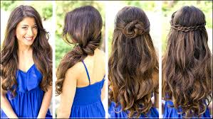 Hair Style Simple sweet and stunning simple hair styles with illusion ponytail 1583 by wearticles.com