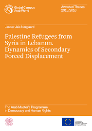 awarded theses  refugees from syria in dynamics of secondary forced displacement