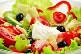 Výsledek obrázku pro zeleninový salát se zálivkou