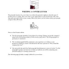Sample Cover Letter Doc Cover Letter Sample Doc Best Letter Sample