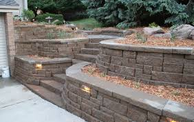 image of how to build a retaining wall photo