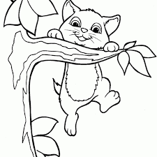 Small Picture Cat And Dog Coloring Page For Kids Animal Coloring Pages Coloring