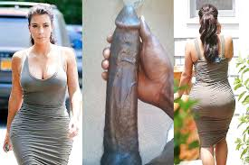 Kim kardashian with black cock