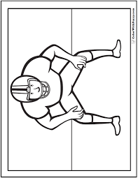 Color in this picture of a football and share it with others today! 33 Football Coloring Pages Customize And Print Ad Free Pdf