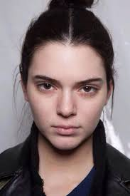 kendall jenner with no makeup perfect skin check it out at