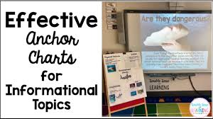 Double Dose Of Learning Effective Anchor Charts For