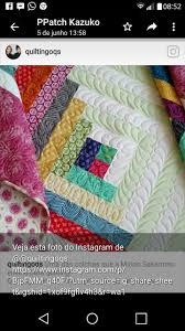 Free Motion Quilting Designs For Log Cabin Pin By Hi Trouble On Quilt Blocks Machine Quilting Designs