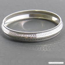 Silver Kada Design For Man Fashion Vanni Silver Gents Kada Skm00006